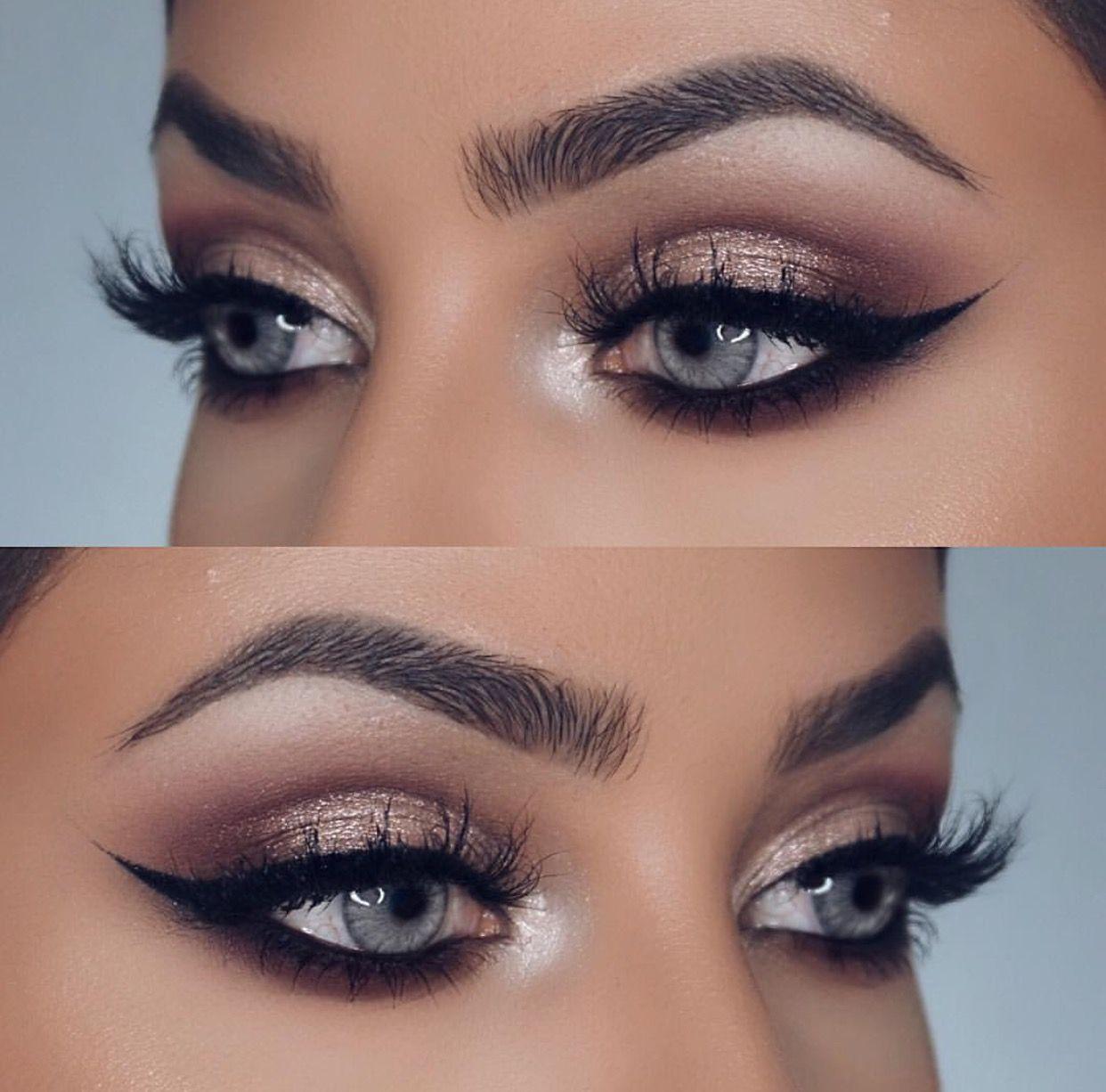 pinterest || natalieehughess | blue eye makeup, eye makeup