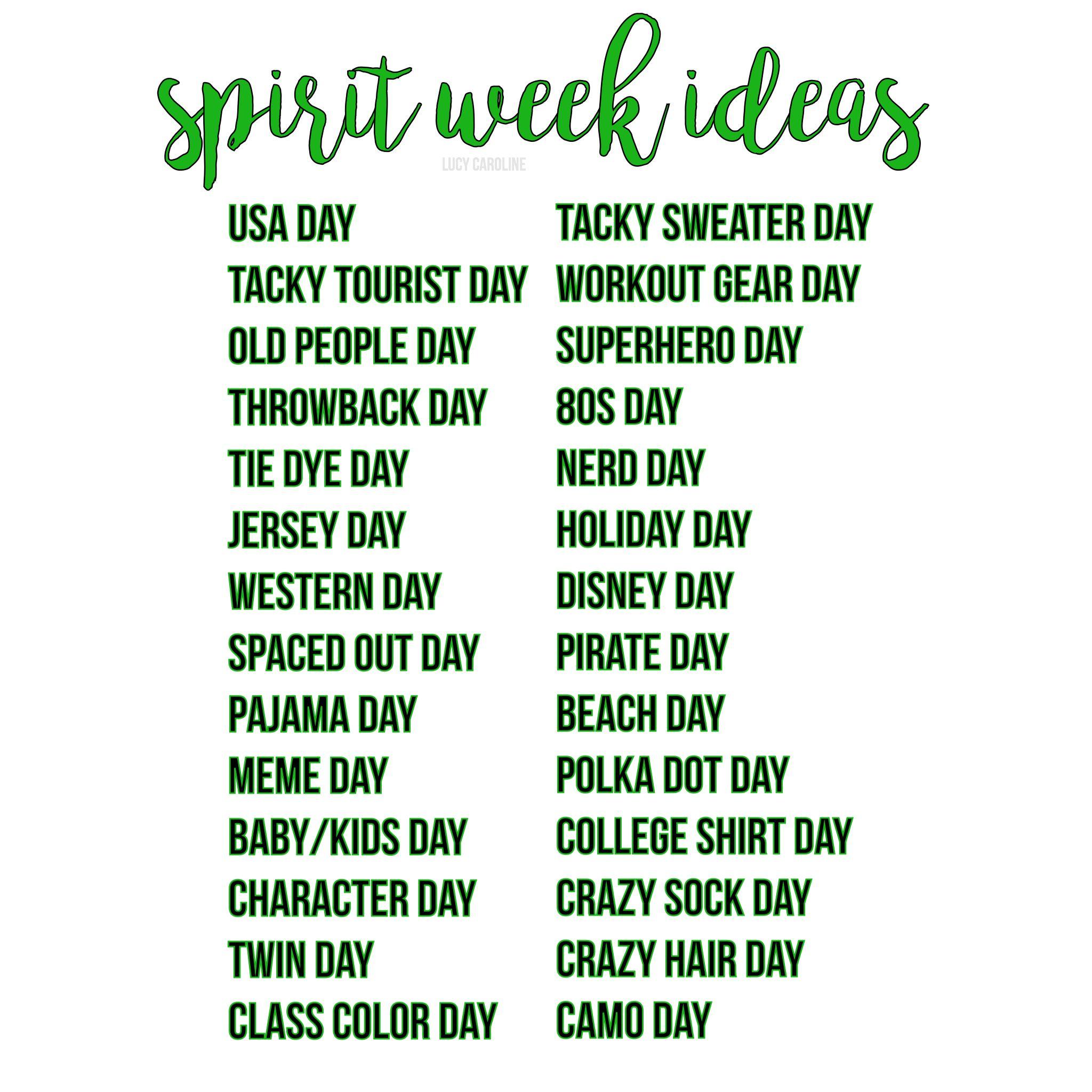 School Spirit Day ideas | education : school & classroom fun ...