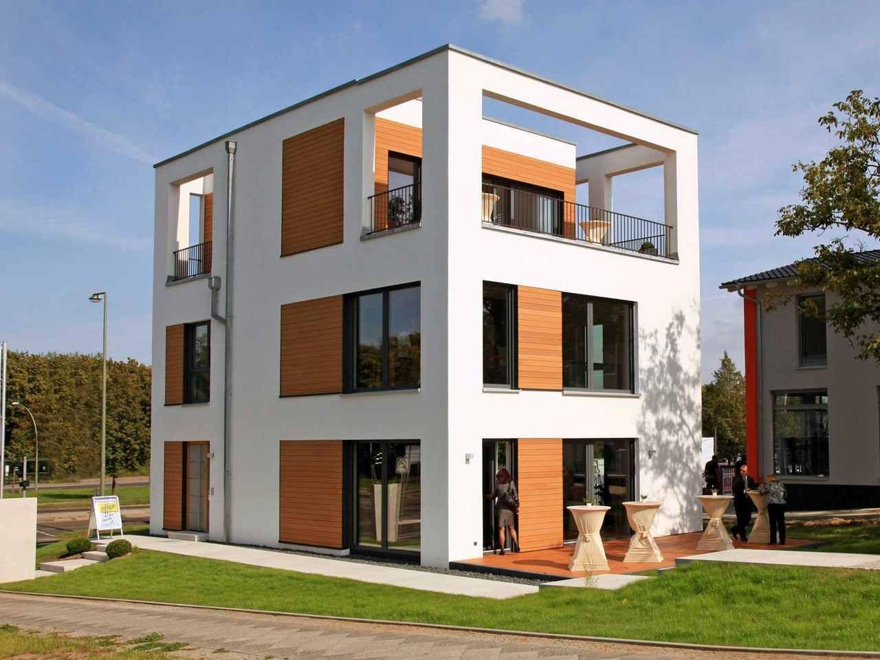 Bauhausvilla BH 205 Lechner Massivhaus Massivhaus