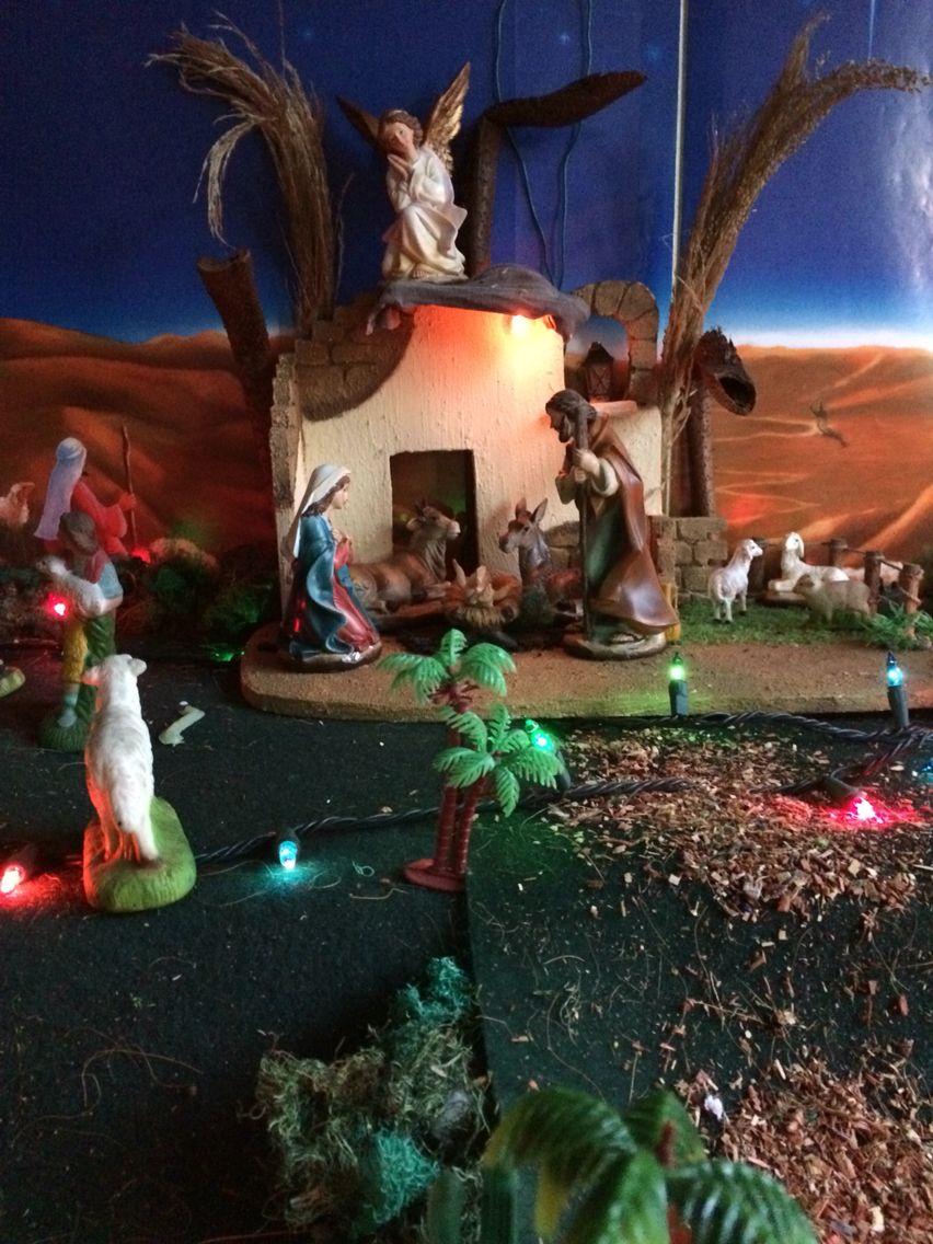 Pesebre navidad 2015 Nativity scene 2015