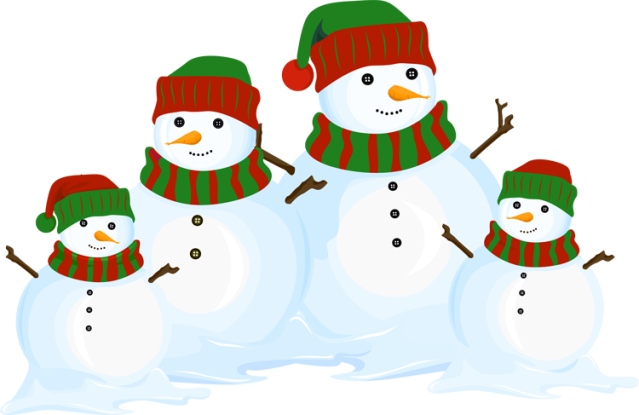 great clip art of snowmen and carolers snowman family holiday rh pinterest com