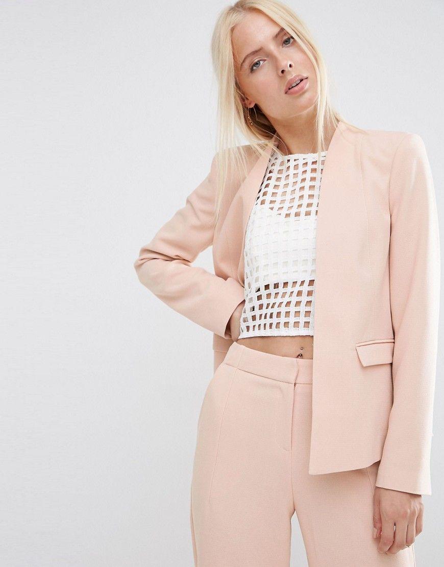 Compra Americana de mujer color rosa de Asos al mejor precio. Compara  precios de chaquetas de tiendas online como Asos - Wossel España