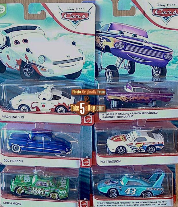 Mattel Disney Pixar Cars More 2020 Singles Card Previews In 2020 Disney Pixar Cars Pixar Cars Disney Cars