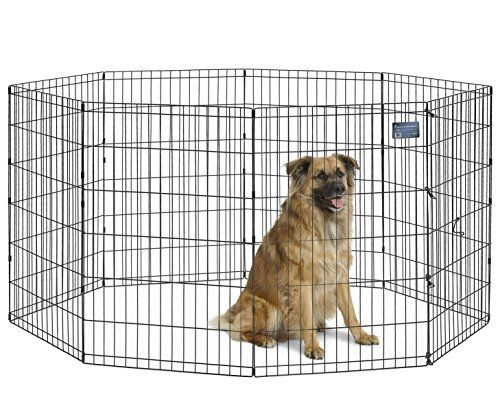 Outdoor Dog Pens Midwest Foldable Metal Exercise Pen Pet Playpen For More Information Visit Image Link This I Dog Playpen Pet Playpens Diy Dog Kennel
