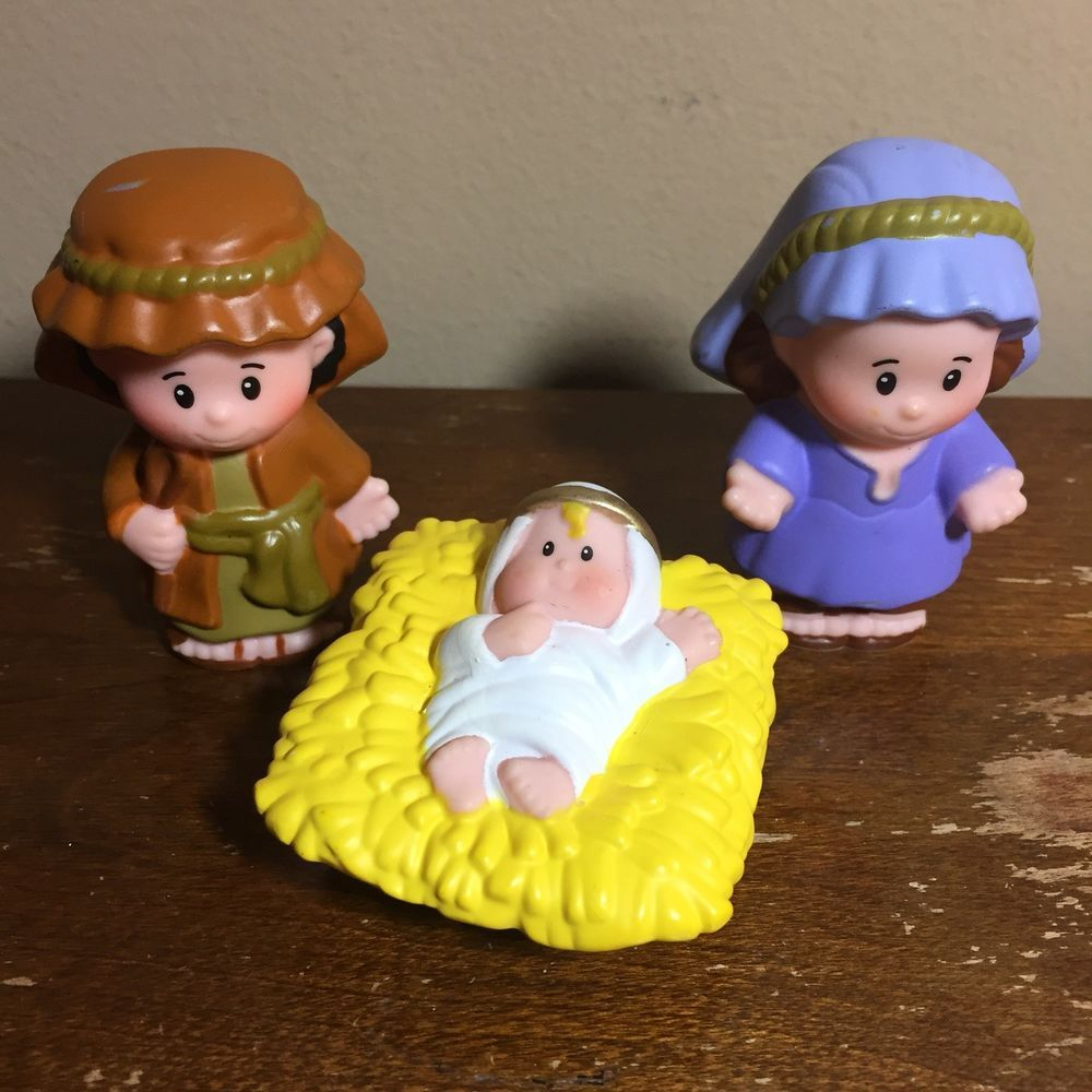 Replacement Baby Jesus Figure Fisher Price Little People Nativity Set