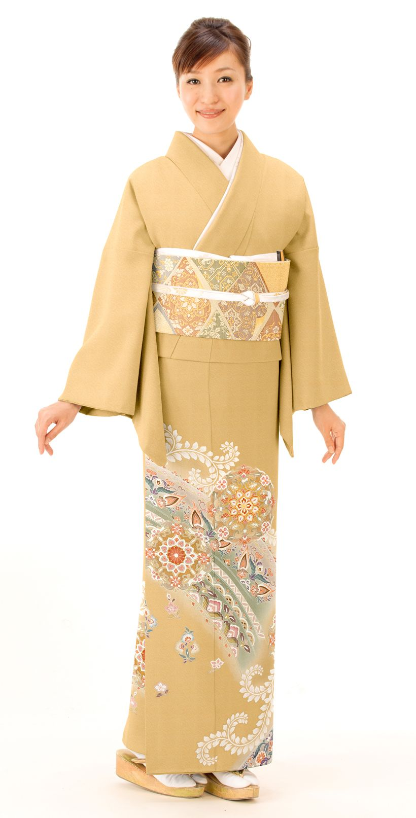 留袖レンタル 色留袖 は 晴れ着の丸昌 結婚式 色留袖 着物 美人 留袖