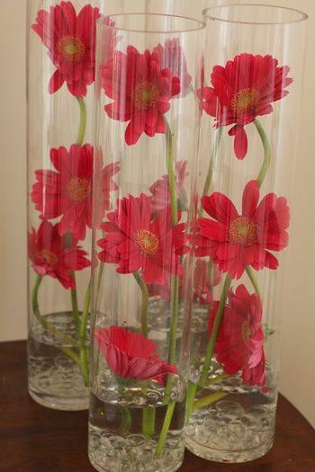 Gerber Daisy Wedding Ideas Wedding Reception Flowers