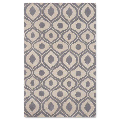 Momeni Bliss Grey Rug - Just ordered this rug and runner for my foyer. Super big yay!!!!