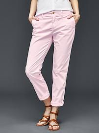740ebcde70d Twill stripe girlfriend chino