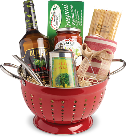 Our Favorite Holiday Gift Basket Ideas Pasta Gifts Themed Gift Baskets Christmas Gift Basket