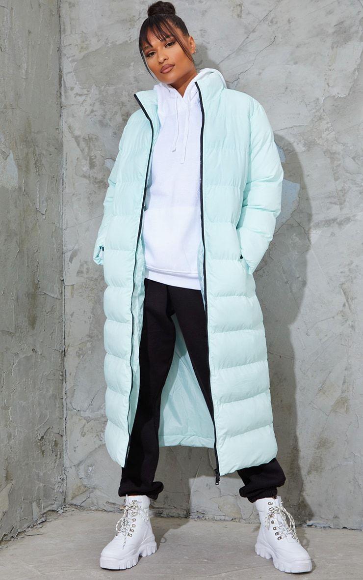 Mint Maxi Longline Puffer Jacket In 2021 Mint Maxi Long Puffer Coat Puffer Jackets [ 1180 x 740 Pixel ]