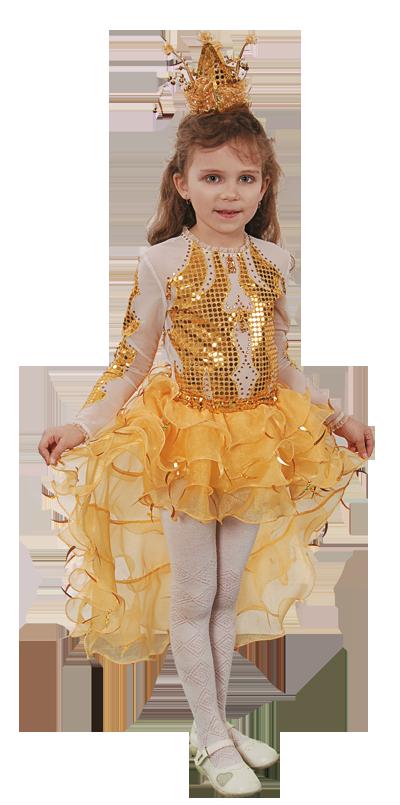 148632051f7 Карнавальный костюм Принцесса Золотая рыбка 261 30