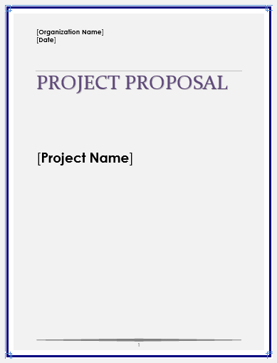 project proposal template projects to try pinterest proposal