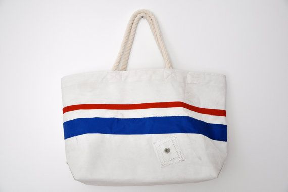 4th of July Bag... made from old sails by my brother in law's company... get you one!