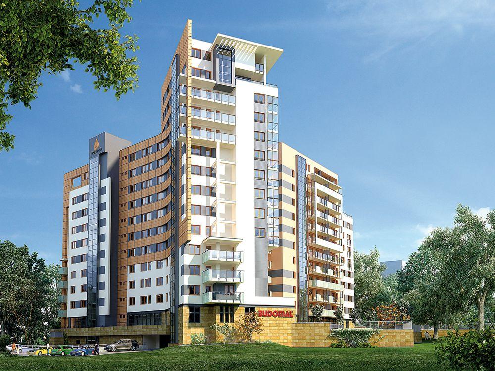 Apartamentowiec Panoramika, ul. Bartoka w Łodzi
