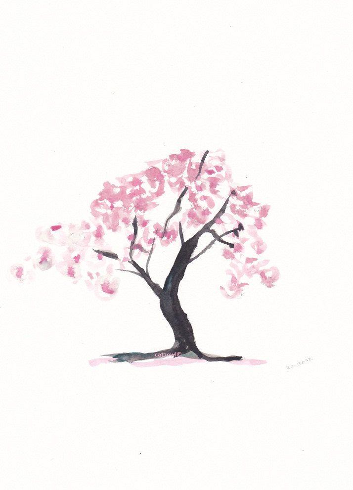 Cherry Blossom Blossom Tattoo Tree Tattoo Small Cherry Blossom
