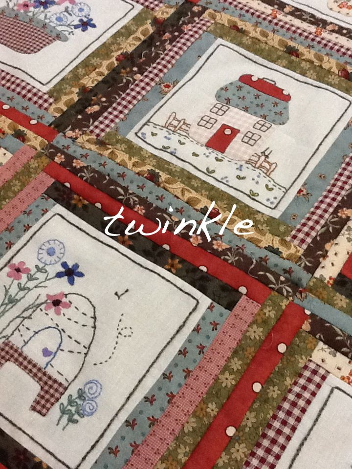 Country Cottage Quilting | Artist Blogs | Pinterest | Country ... : country cottage quilts - Adamdwight.com