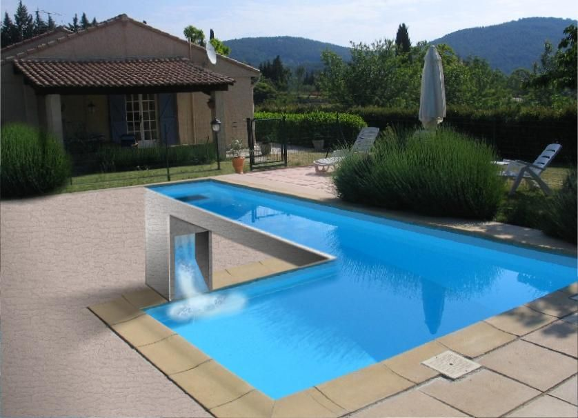 Swimming Pool Optical Illusion - Http://www.moillusions.com ... 20 Tolle Swimmingpool Designs Geometrisch