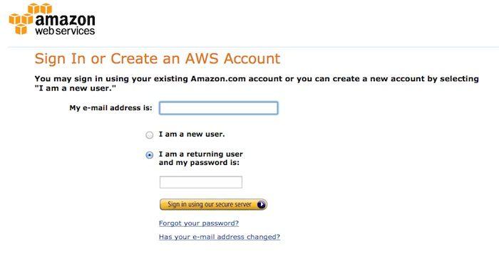 Amazon Aws Login Amazon Login Online Website