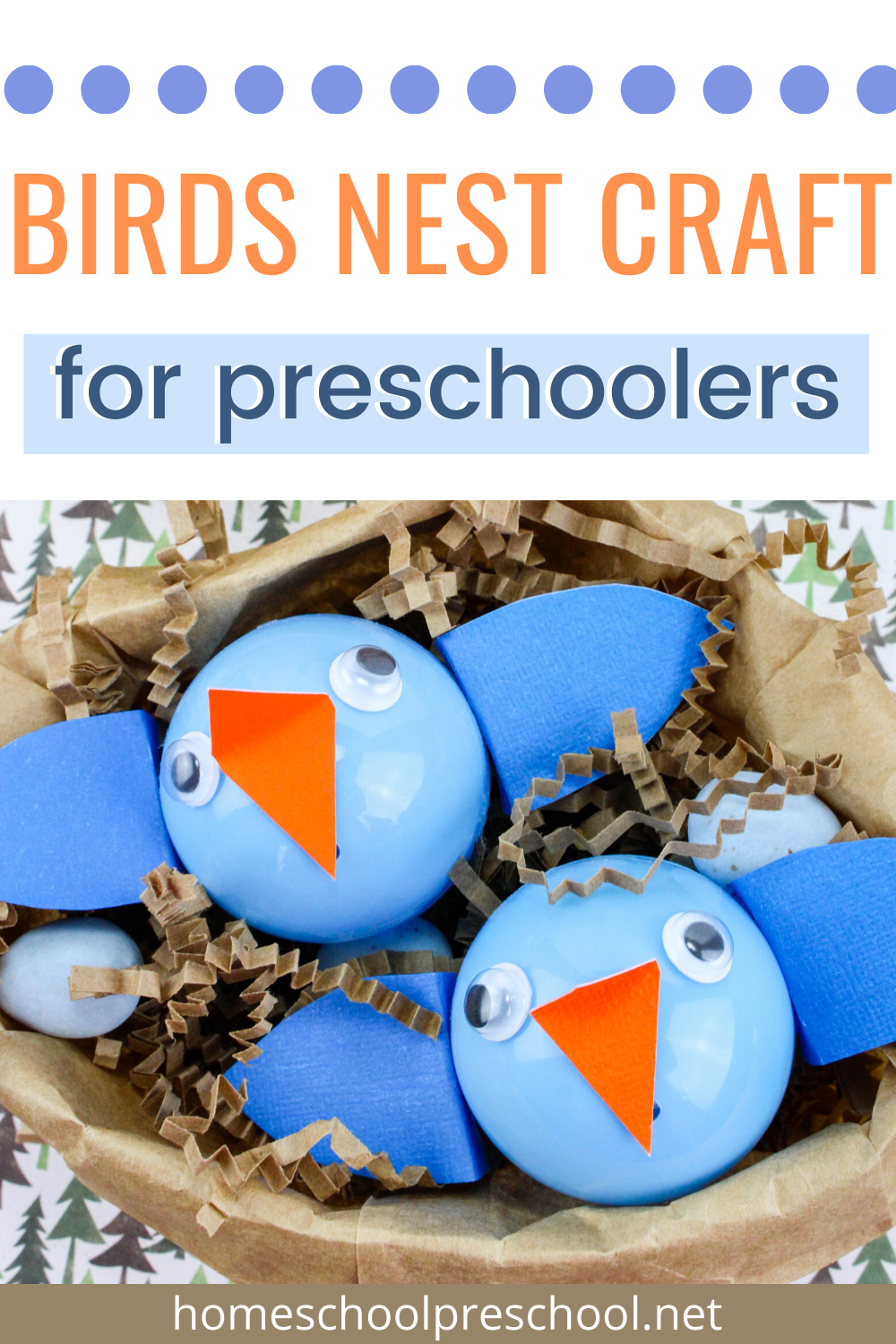 20+ Bird nest craft preschool ideas