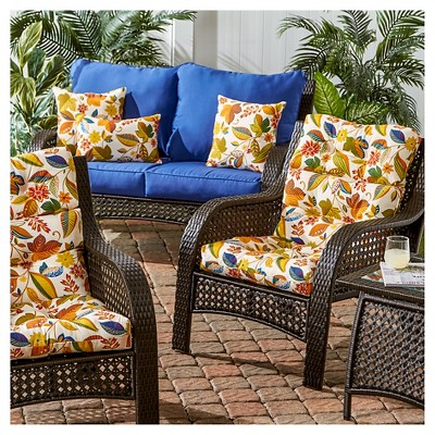 outdoor high back chair cushion esprit greendale home fashions rh za pinterest com