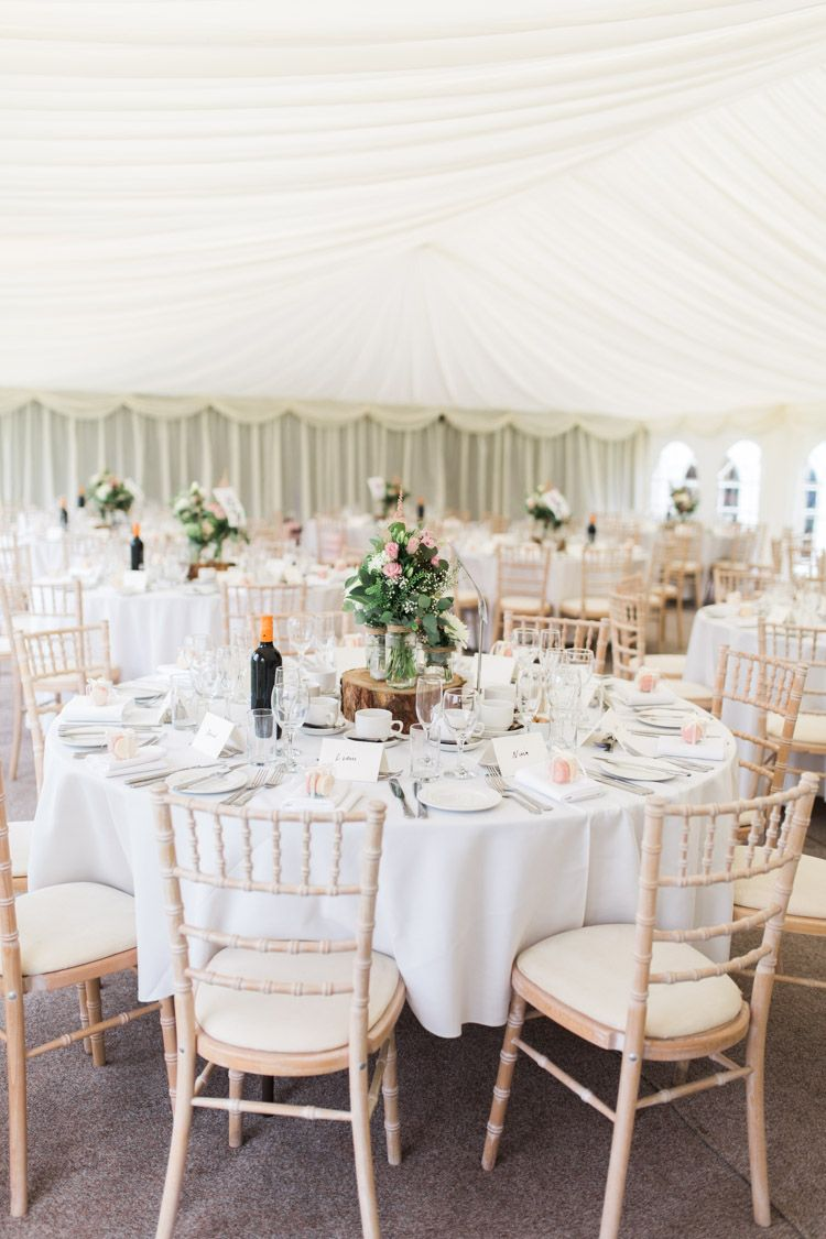 Simple Natural u0026 Honest Marquee Wedding