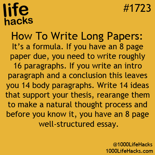 Ahhh, that's why I find it hard writing 8 pages (or anything more ...