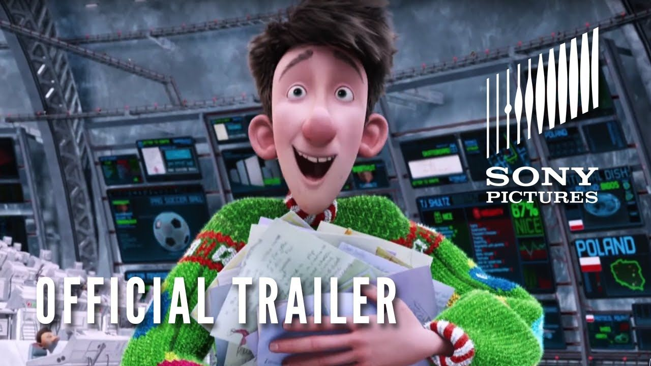 ARTHUR CHRISTMAS - Official Trailer - In Theaters 11/23 | Trailers ...