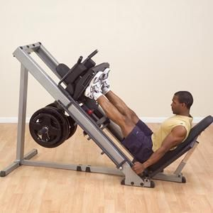 body solid leg press and hack squat olympic style plates sold rh pinterest com