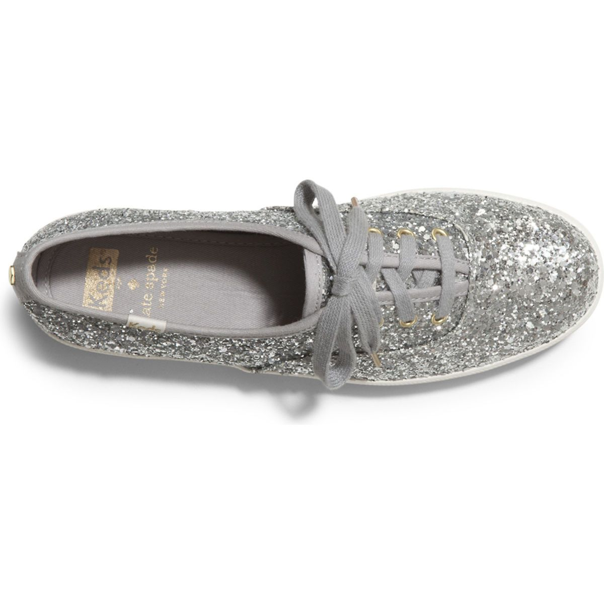 2cc688a194b Women - KEDS X kate spade new york CHAMPION GLITTER - Cream Glitter ...