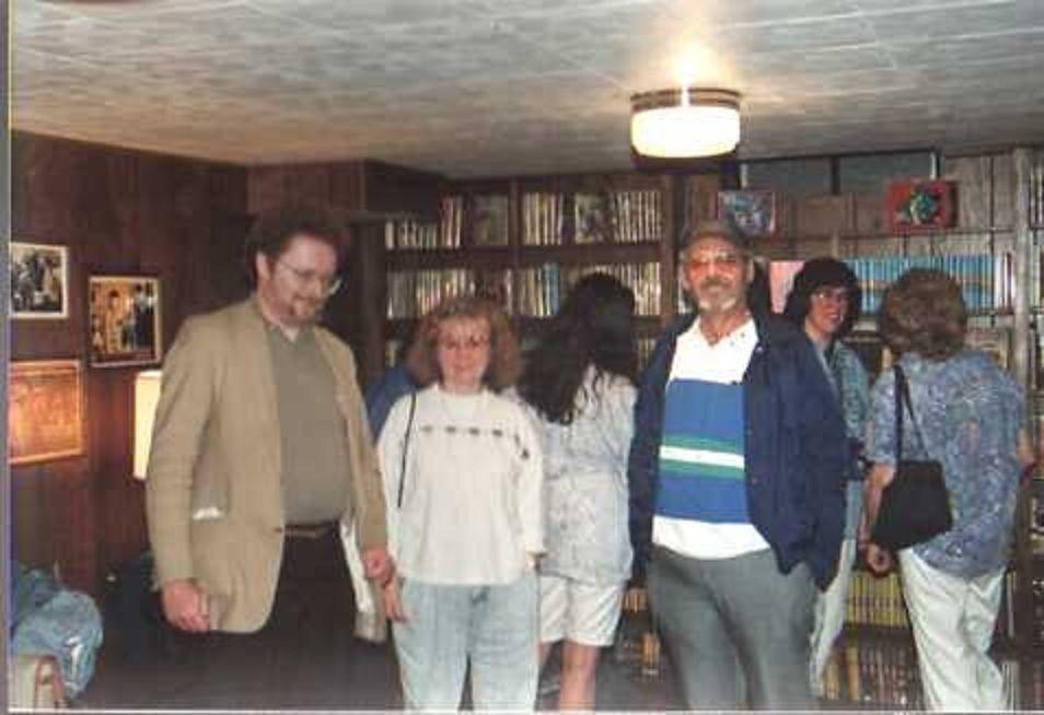Series book collectors viewing David Farah's famous