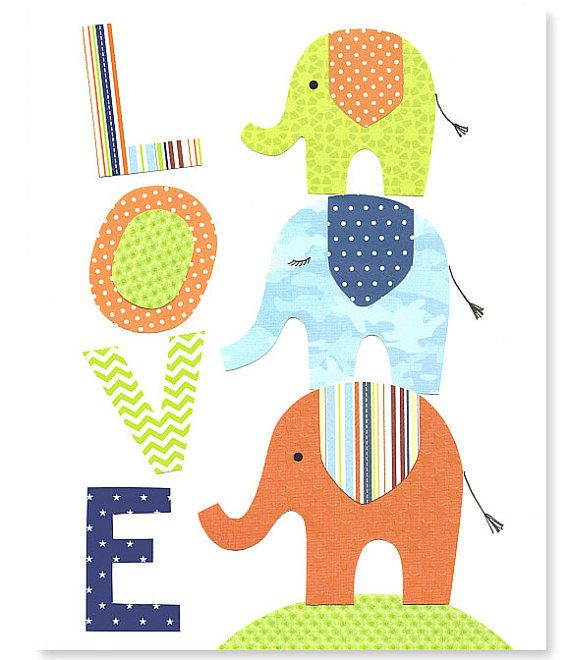 Hey, I found this really awesome Etsy listing at http://www.etsy.com/listing/174817810/elephant-nursery-art-love-print-boys
