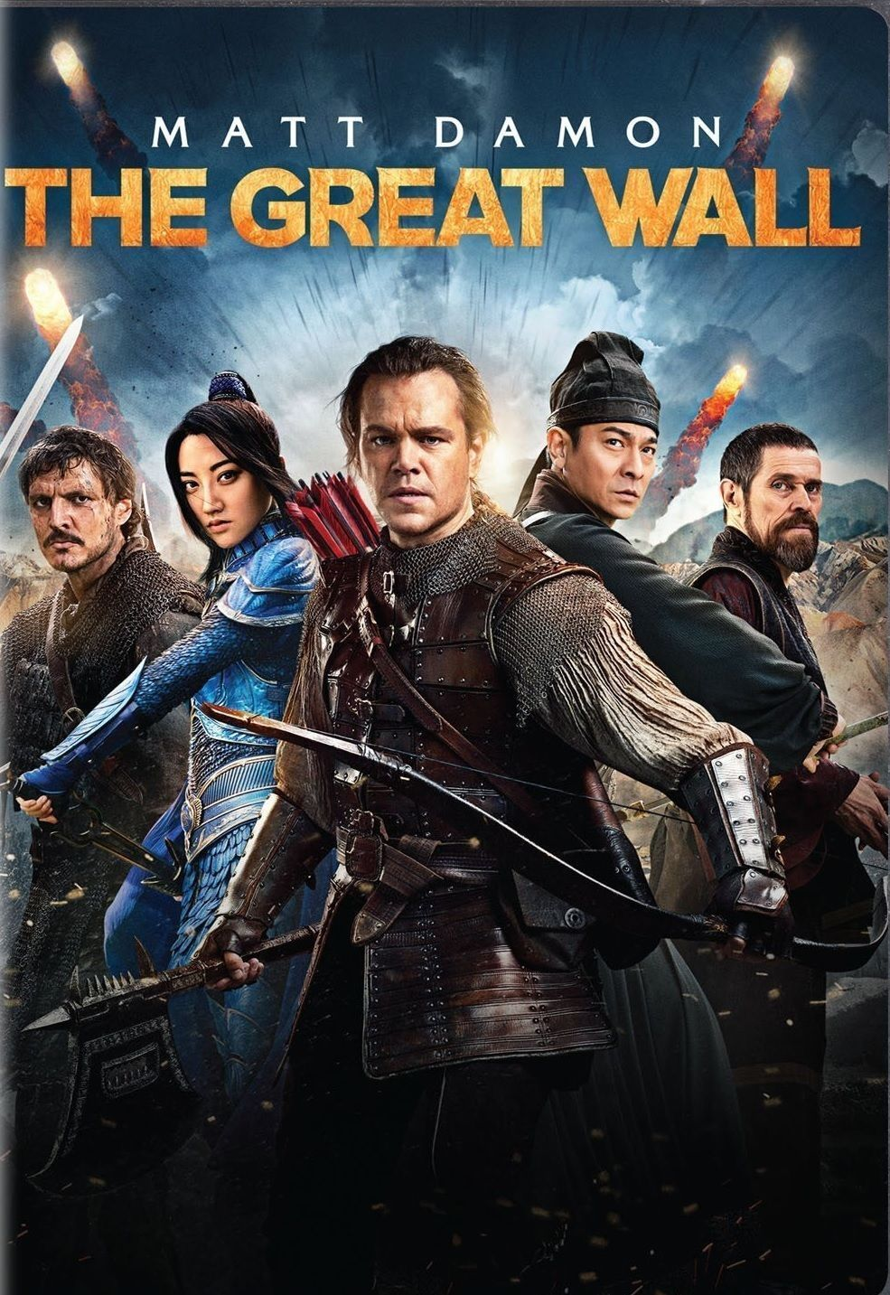 the great wall 2017 matt damon action format dvd new common rh pinterest com