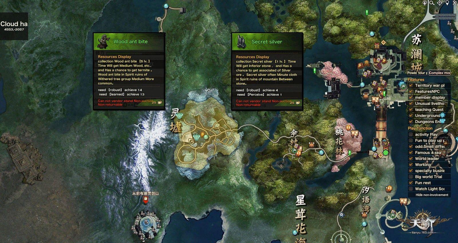 revelation online gathering maps
