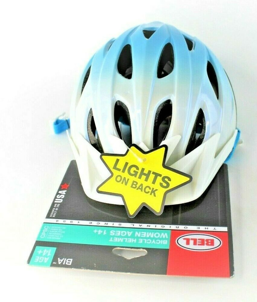 Bell bia adult womens bicycle helmet ages 14 w lights