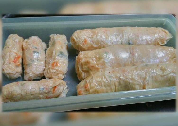 Lumpia Kulit Tahu Isi Ayam Udang Di 2020 Resep Masakan Makanan Ikan Resep