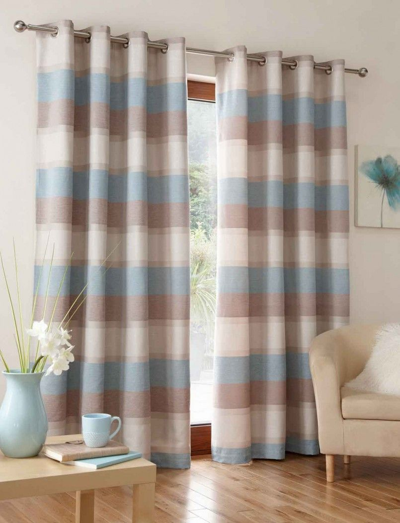 curtains creative combination brown and blue curtain bedroom toddler rh pinterest com
