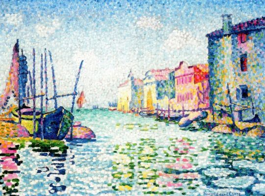 Canala Ponte Lungo by Henri-Edmond Cross