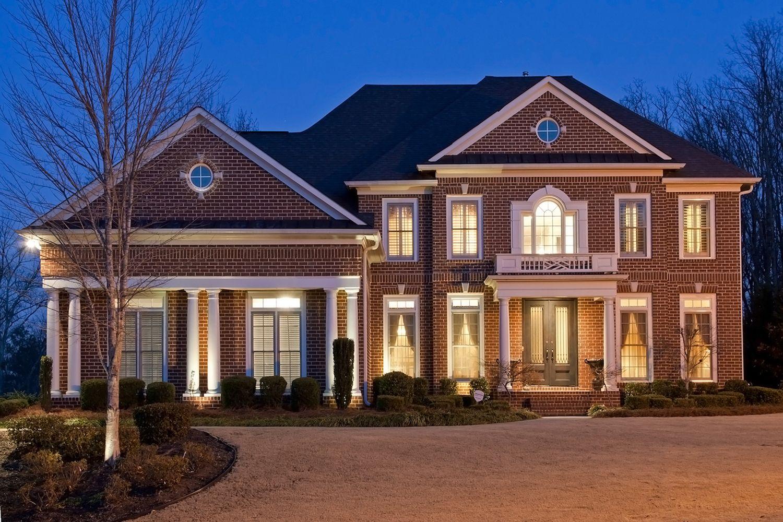 Neo Georgian Facade Expensive Houses Big Houses Atlanta Real Estate