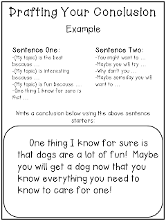 Third Grade Doodle Writing Informational Text Step By Expository Essay Conclusions Conclusion
