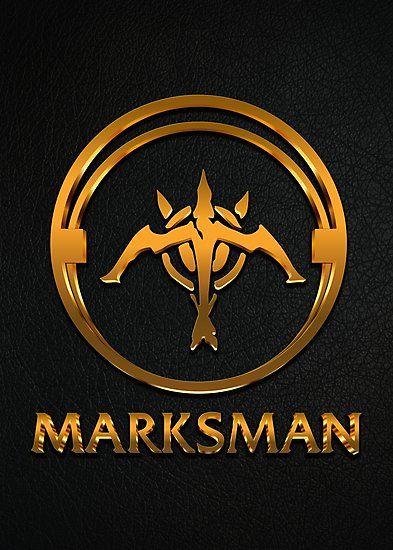 League Of Legends Marksman Gold Emblem By Naumovski