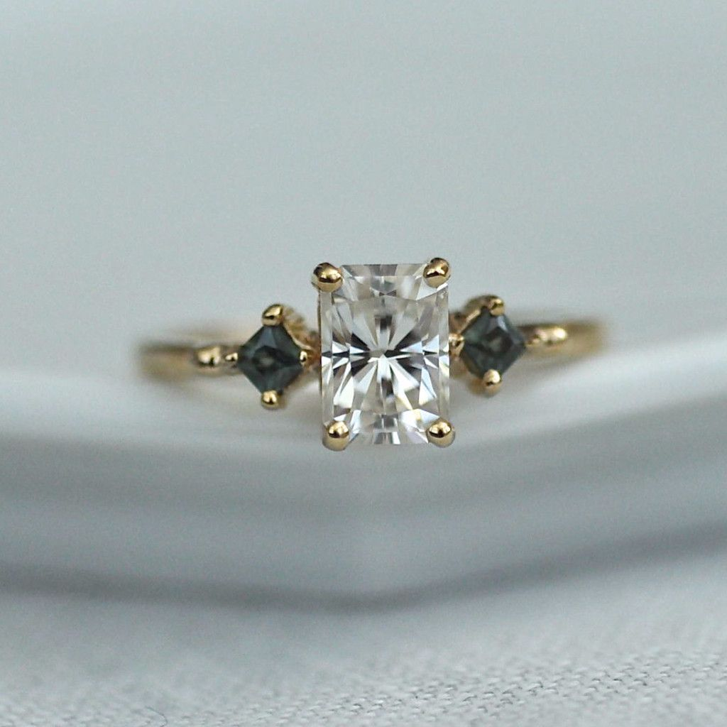 and stone sapphire moissanite pin quickcrafter ring engagement setting