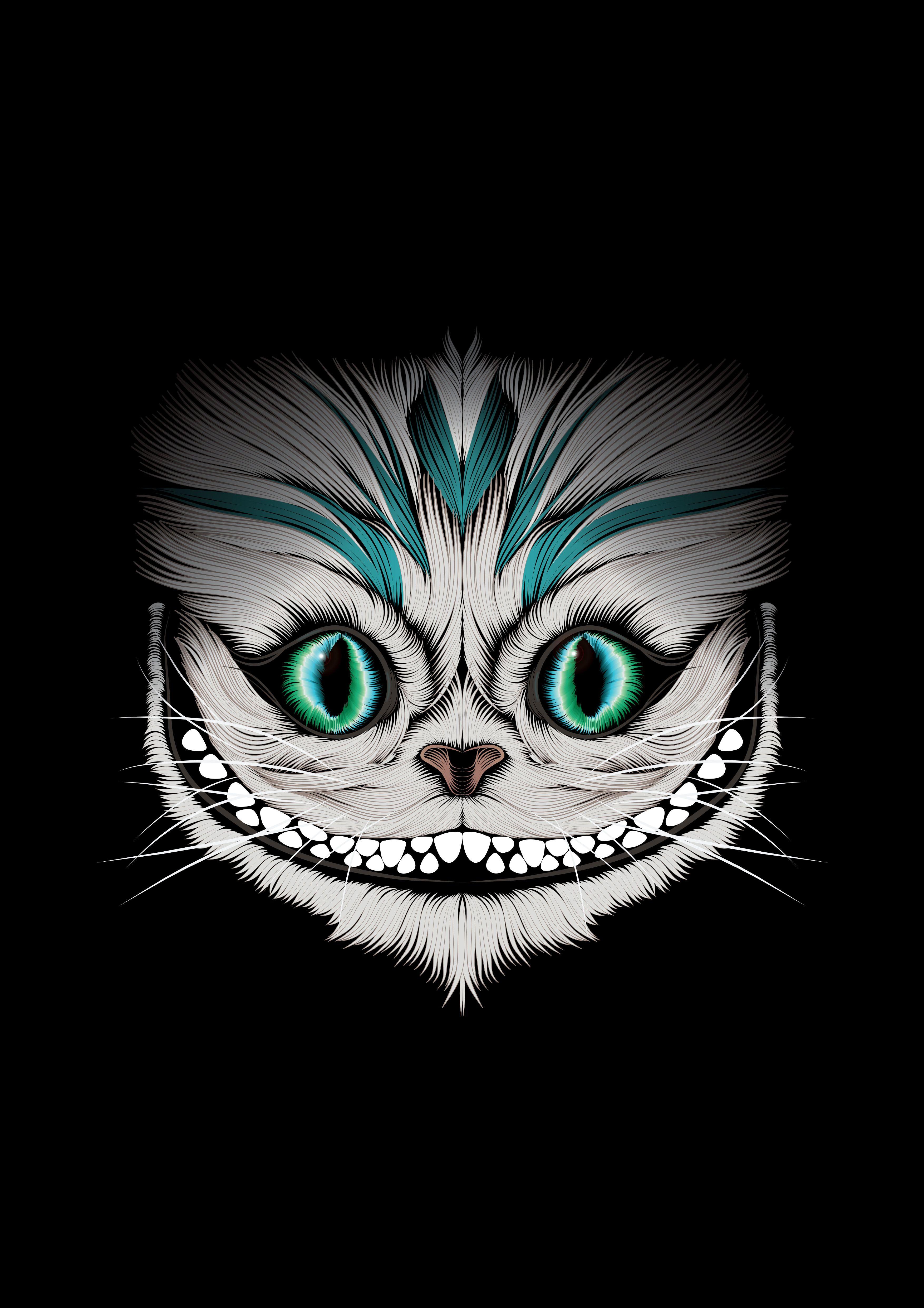 https://www.behance.net/gallery/19209039/Cheshire-Cat