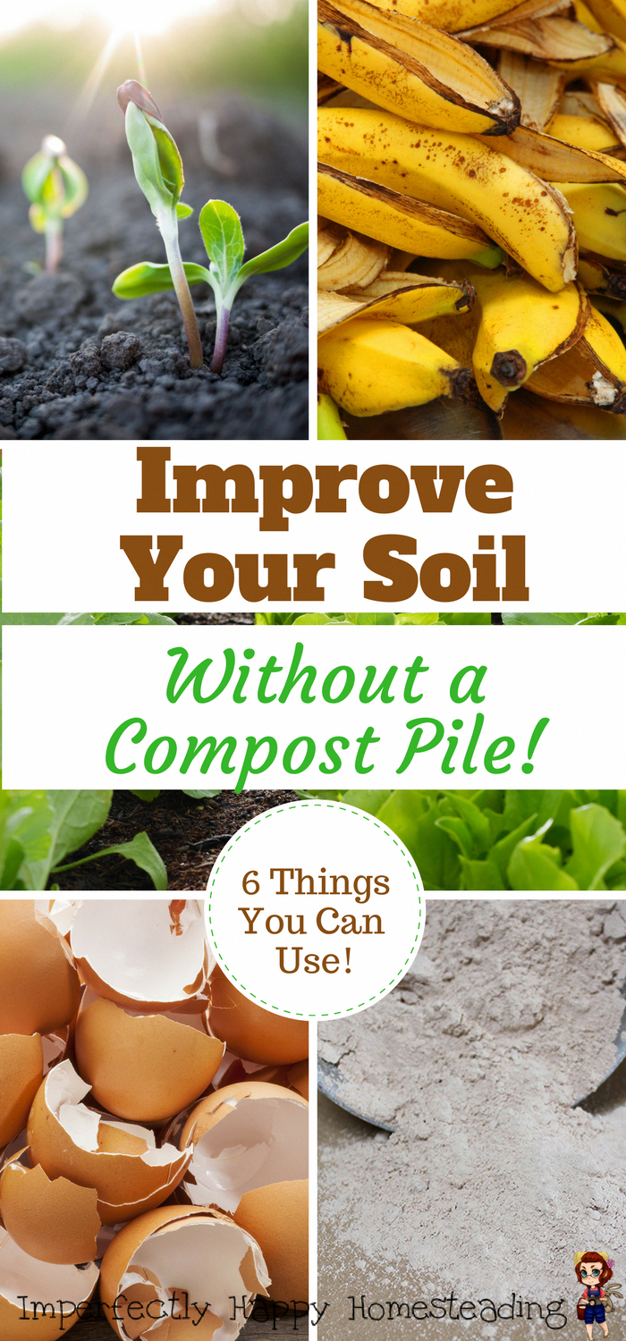 How to Improve Soil Without a Compost Pile - 6 Key Ingredients