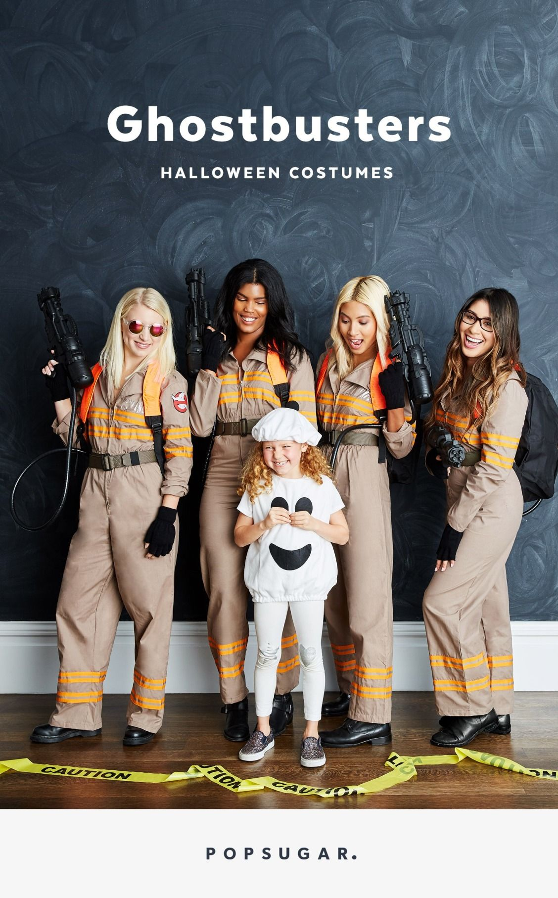 who ya gonna call for a group halloween costume? ghostbusters