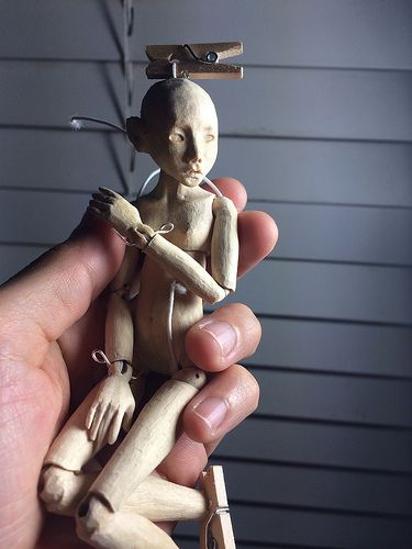 progress of a commission wooden ball jointed art doll by rh pinterest com