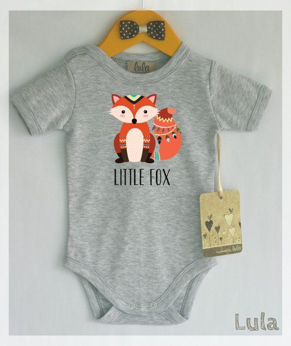 1ff459e4f954 Adorable fox baby clothes.