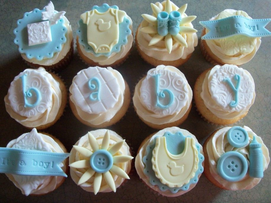 Find This Pin And More On Cupcake Lovers By Pollyann97. Baby Boy Cupcakes  For Shower