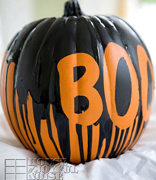 60 Creative Ideas For No Carve Pumpkins