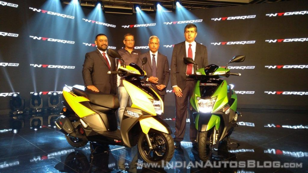 Tvs Ntorq 125 Scooter Launched In India At Inr 58 750 Product